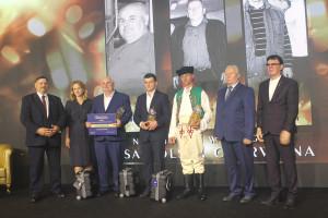 Laureaci w kategorii stad w rasie polskiej czerwonej
