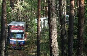 Do zatrzymania doszło w lesie na granicy rosyjsko-białoruskiej