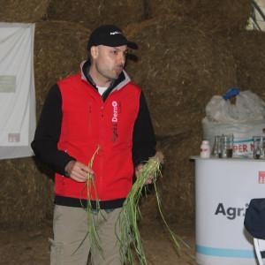 Tomasz Haase, dyrektor ds. rozwoju, Agrii Polska, opowiedział w czasie spotkania o wielu doświadczeniach z wyczyńcem przeprowadzonych na terenie Wielkiej Brytanii Fot. A. Kobus
