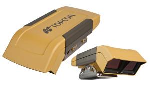 Skanery urządzenia Topcon CropSpec również umieszcza się na dachu maszyny, a ich działanie opiera się na odbiciu wiązek fal świetlnych