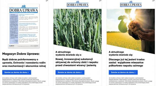 Dobra Uprawa - cenione źródło informacji dla gospodarstw rolnych