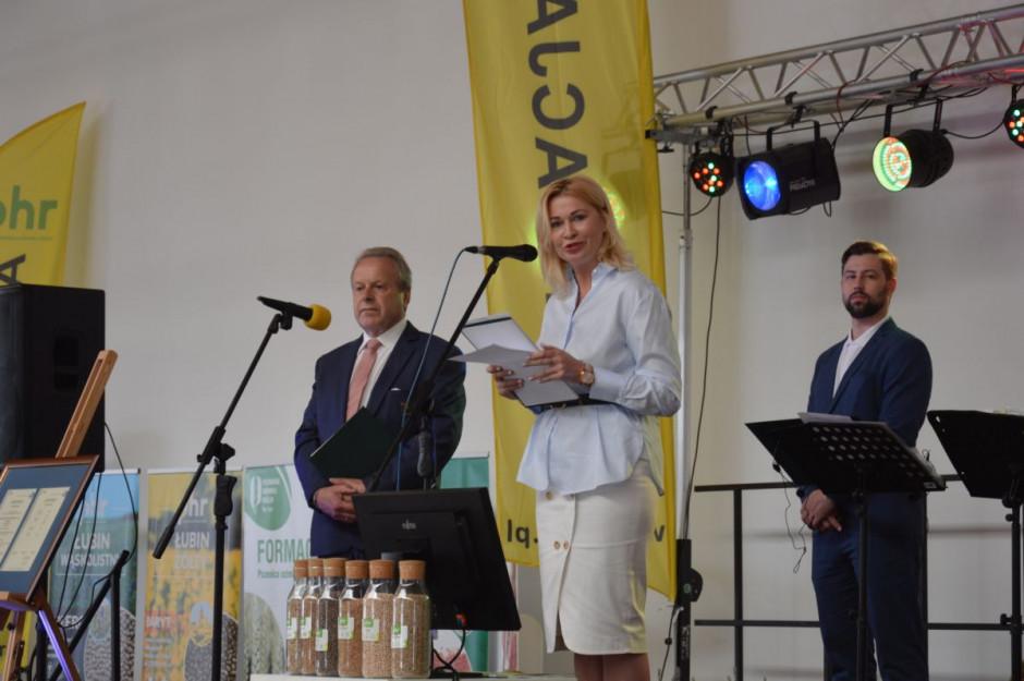 Od lewej: Czesław Janikowski, prezes PHR i Aneta Burghardt, była wieceprezes  zarządu Spółki; Fot. Katarzyna Szulc