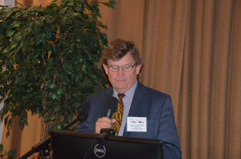 Jackie C. Rudd z Texas AgriLife Extension Service i The Texas A&M System omówił politykę w zakresie rozwoju rynku zbóż w USA, fot. M. Tyszka