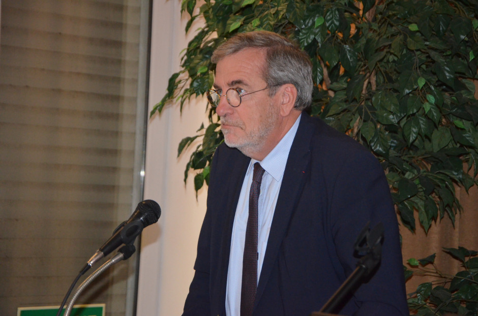 Organizację rynku zbóż omówił rolnik z Francji - Jean Francois Istambert, fot. M. Tyszka