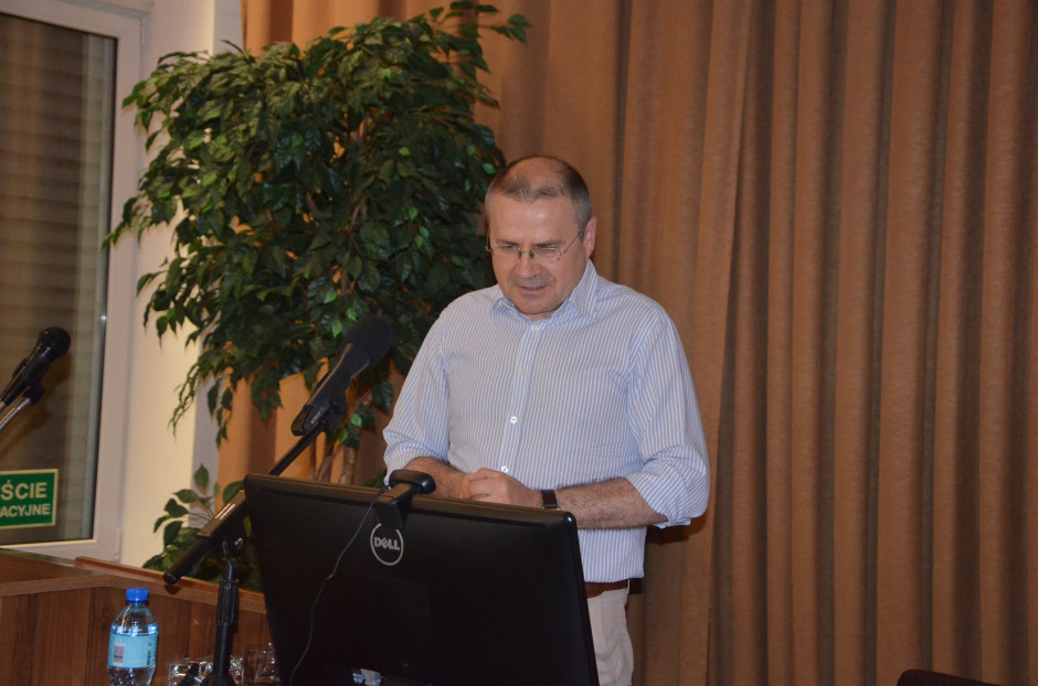 Dr Wiesław Łopaciuk omówił sytuację na rynku, fot. M. Tyszka