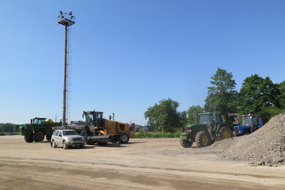 Gospodarstwo Voore Farm, 3700 ha produkcji roślinnej i zwierzęcej, korzystające z powodzeniem z aplikacji eAgronom, fot. ArT