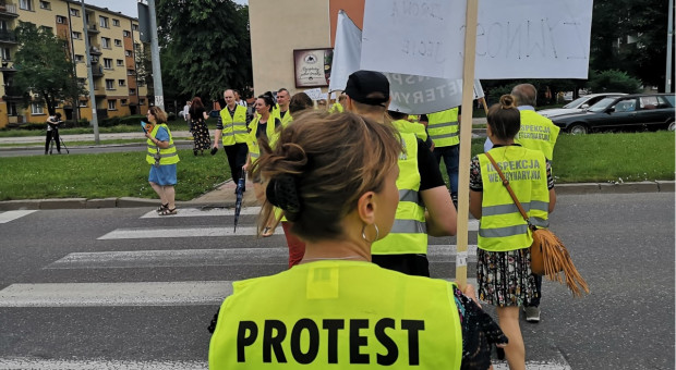 Zablokowane drogi - protest Inspekcji Weterynaryjnej [Aktualizacja]