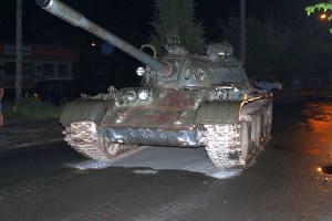 Właściciel i zarazem kierowca czołgu był nietrzeźwy w chwili zatrzymania