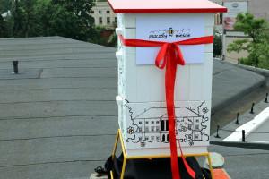 """Kolejne ule w ramach akcji """"Pszczoły w mieście"""" stanęły w Kielcach"""