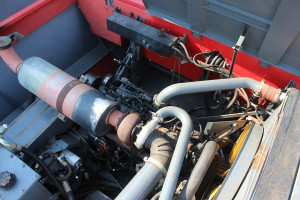 Maszyny wyposażano w silniki SisuDiesel o pojemności 7,4 lub 8,4 l