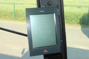 Komputer Datavision z dotykowym wyświetlaczem to niezwykle nowoczesny element wyposażenia kombajnów 7200 Cerea
