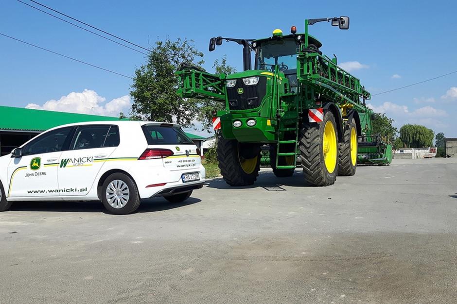 Dużo maszyn trafia do Gospodarstwa Ekowar przez firmę Wanicki, dealera m.in. marki John Deere, fot.mat. prasowe