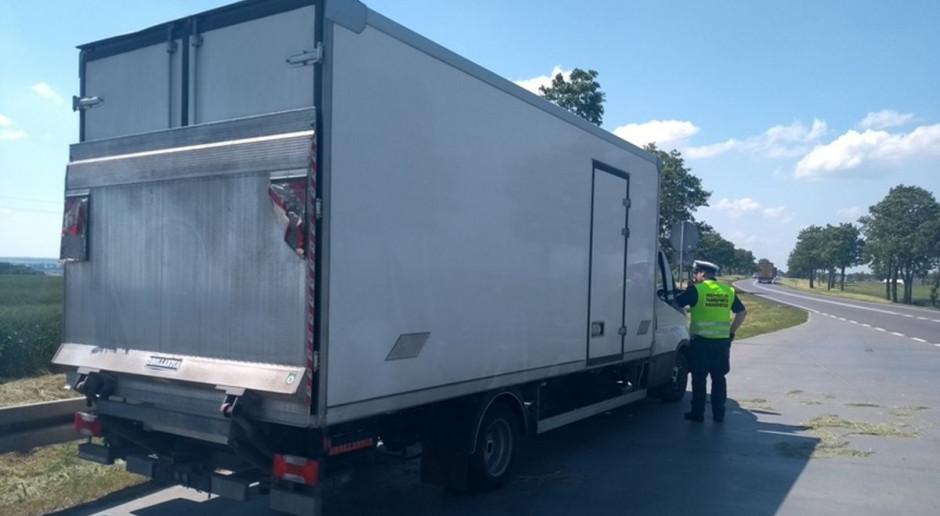 Ciężarówka wiozła o 17 razy za ciężki ładunek