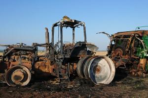 Farmer w  Teksasie, cz.5. Pożar w gospodarstwie!