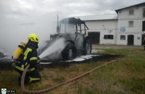 Strażakom udało się zdławić ogień