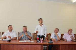 Marcin Bustowski i Michał Kołodziejczak wspólnie namawiali do zjednoczenia i walki o lepsze prawo Foto: GT