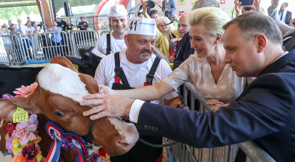 Prezydent: Nowoczesne rolnictwo to takie, które jest realizowane w sposób zrównoważony