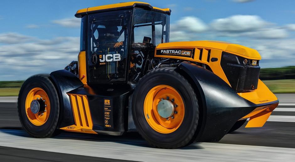Nowy rekord: traktor osiągnął 166 km/h