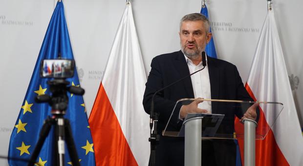 Ardanowski: pomoc suszowa będzie też wypłacana rolnikom w I kw. 2020 r.