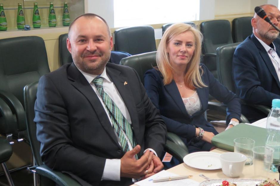 Rafał Mładanowicz i Joanna Tomaszewska z KFPZ, fot. M. Tyszka