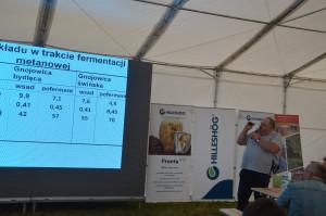 Możliwości zastosowania uprawy pasowej w aplikacji gnojowicy omawiał dr inż. Tomasz Piechota
