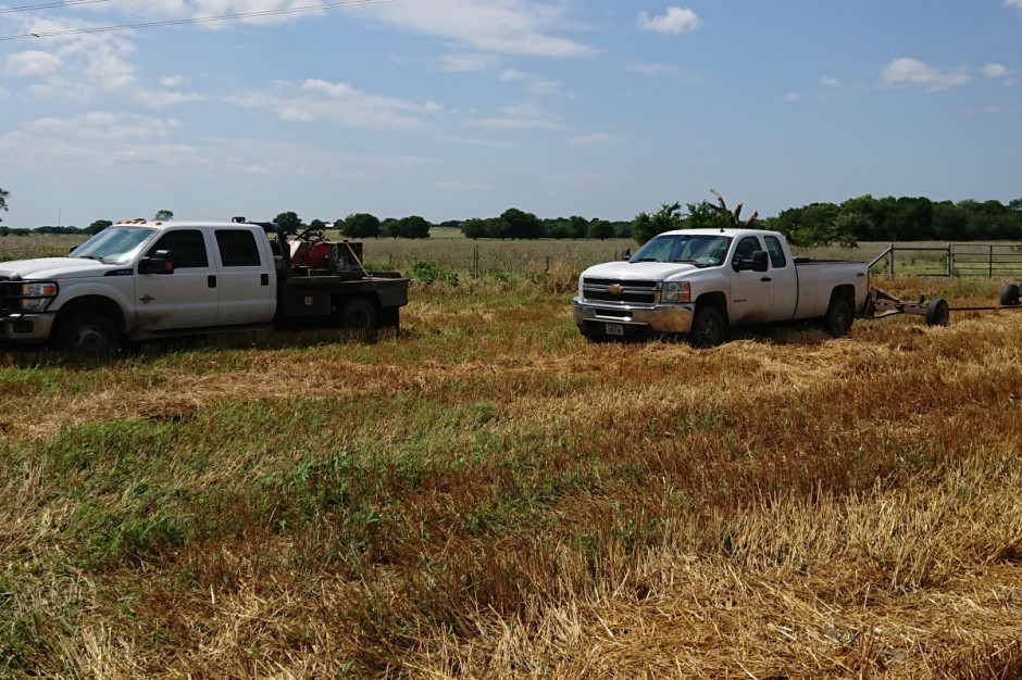 Pickup dla farmera to przede wszystkim narzędzie pracy, fot. T.Kuchta