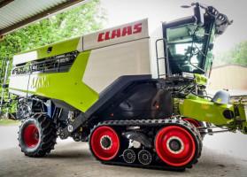 Nowy Claas Lexion wyrusza na pola, fot. materiały prasowe