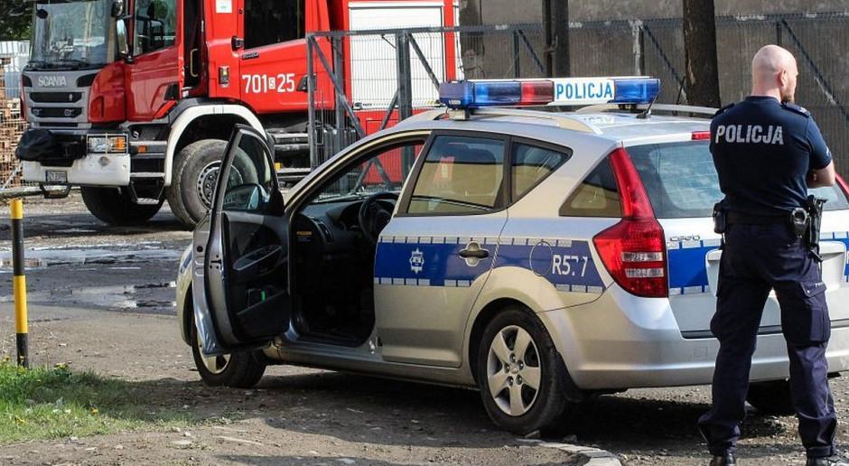 Zderzenie zaprzęgu konnego z samochodem – dwie osoby w szpitalu