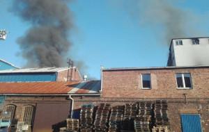 Do pożaru na terenie byłej cukrowni w Chybiu doszło 4 lipca br.
