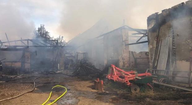W pożarze gospodarstwa na Opolszczyźnie spłonęło 20 krów