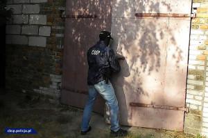 W budynkach gospodarstwa ukryta była kompletna linia do produkcji amfetaminy