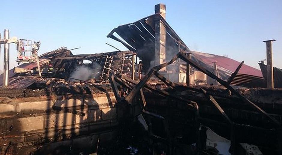 Śledztwo w sprawie pożaru ubojni we Włodawie umorzone