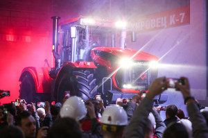 Rozpoczęcie produkcji ciągników nowej generacji Kirowiec K-7, fot. materiały prasowe