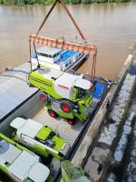 Megatransporty maszyn rolniczych