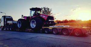 Megatransporty maszyn rolniczych, zdjęcia: materiały prasowe