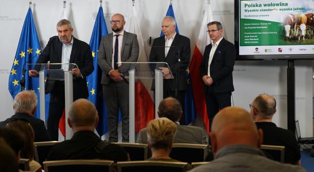 Resort rolnictwa planuje wzmocnić polski rynek wołowiny