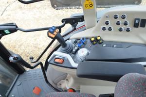 Kabiny nowych ciągników cechują się dobrą ergonomią, fot. mw