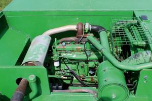 Silniki John Deere'a zapewniają spory zapas mocy. Pracują tutaj jednostki 6-cylindrowe o poj. 8,1 l i mocach od 180 aż do 330 KM