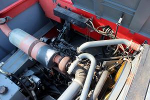 W kombajnach 7256 Cerea montowano jednostki napędowe Sisu Diesel o mocy 250 KM