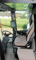 Kabiny kombajnów 7256 Cerea oferowały doskonałe widoczność i komfort. Wielofunkcyjna dźwignia i dotykowy ekran Datavision w swoich czasach wyznaczały standardy obsługi