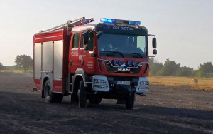 Strażacy dostali samochód w 2017r. i tak prezentował się przed pożarem, Foto: OSP Złotnik