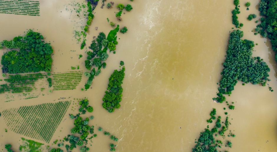 Podtopienia i zalania upraw to działanie siły wyższej