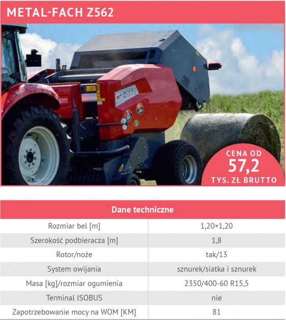 Stałokomorowe dla wymagających - 21 dobrze wyposażonych pras rolujących