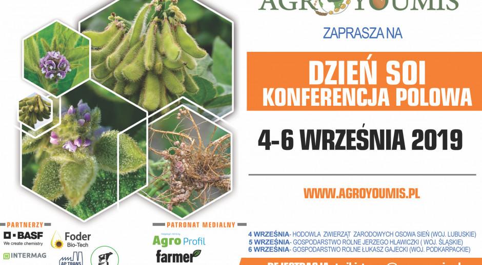Konferencje - Dni Soi firmy Agroyoumis i Krajowego Zrzeszenia Producentów Rzepaku i Roślin Białkowych