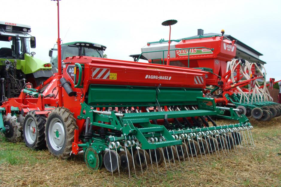 Siew rzepaku w trzech technologiach Agro-Masz, fot. ArT
