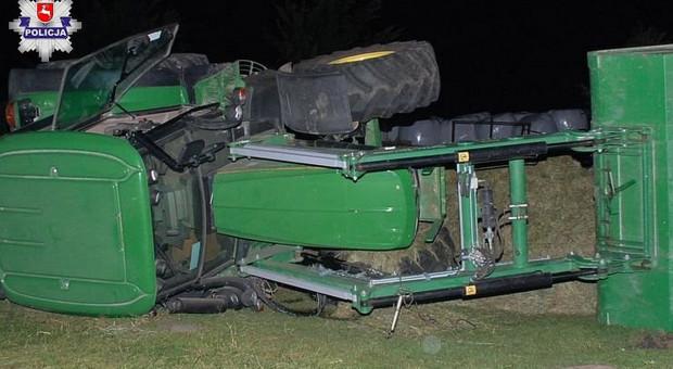 Nieszczęśliwy wypadek w trakcie prac w gospodarstwie