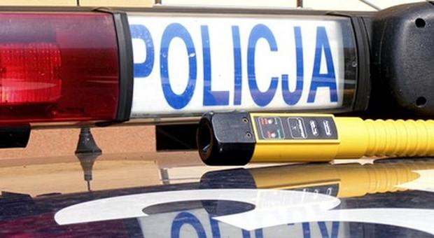 Pijany kierowca auta najechał na ciągnik rolniczy