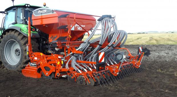 Siewnik Kverneland e-drill maxi plus: nawóz i nasiona w jednym przejeździe