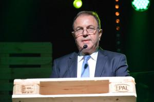 Hans Ecker, prezes spółdzielni Saatbau; Fot. Katarzyna Szulc