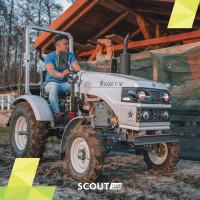 Mini traktory Scout, fot. mat. prasowe